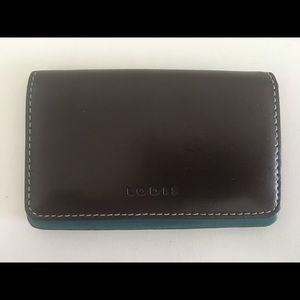 Lodis Business Card Case Holder Genuine Leather